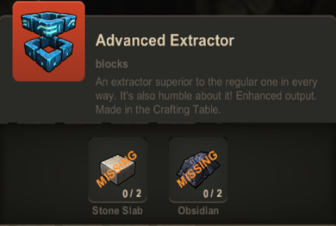 Advanced Extractor