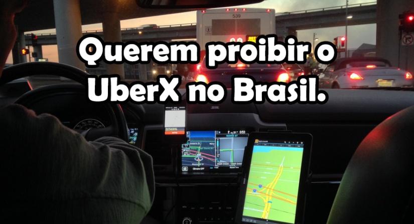 Comissão proibiu o funcionamento do UberX no Distrito Federal (não mais, verabaixo)
